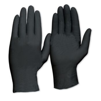 Nitril H/D Disposable Gloves Black