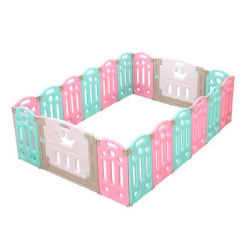 BoPeep Baby Playpen Safety Gate with 14 Panels Fence