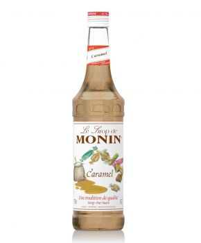 Monin Caramel Syrup, 6 x 700ml