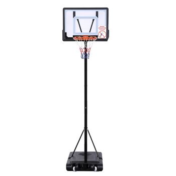Basketball Hoop Stand Kid Rim Ring System Large Backboard Net Height Adjustable
