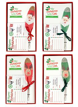 Christmas Letters To Santa Feather Pen Cdux16