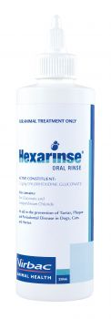 VIRBAC HEXARINSE ORAL RINSE 250ML