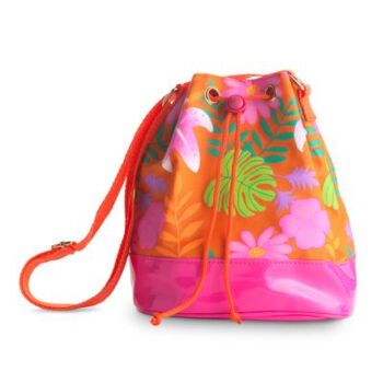 Tropical Tango Cross Body Satchel-Or - Pack Size 2