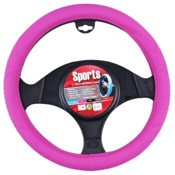 Sports Steering Wheel Cover - Pink