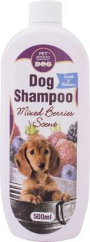 Dog Shampoo Mixed Berries 500ml