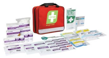 E-Series Responder First Aid Kit Red Soft Pack 5x Pack