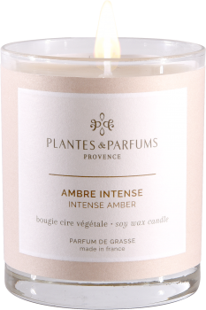 180g/6.34 oz Perfumed Hand Poured Candle - Precious Amber