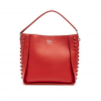 19V69 Italia Red Shoulder Bag