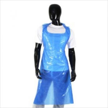 Disposable LDPE Apron Blue (1,000 pcs)