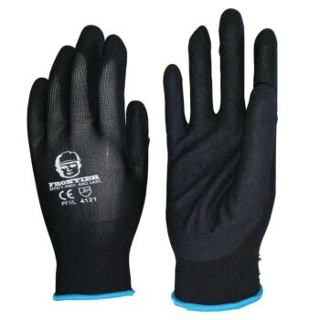 Frontier Foam Touch Gloves Nitrile Sand