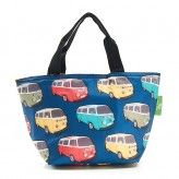 Eco Chic Teal Camper Lunch Bag