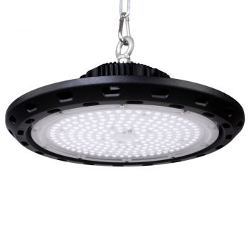 LED High Bay Lights Lamp Light 100W UFO Factory Warehouse Gym Commercial Shed Leier