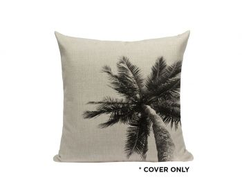 Indoor Cushion COVER - Coco Sky Palm - 45x45