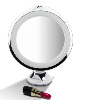 10x Magnifying Makeup Vanity Mirror with LED Light