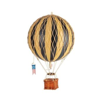 Authentic Models Travels Light Hot Air Balloon Model - Black