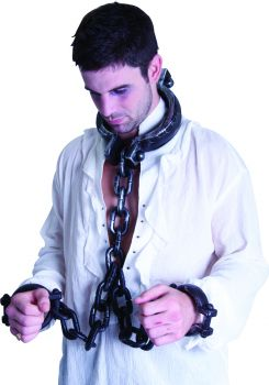 Jumbo Neck & Hand Shackles - Adult
