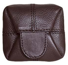 GL180A   Leather Coin Pouch