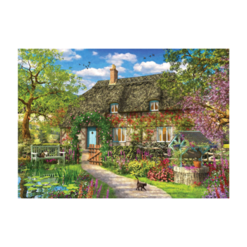 Spring Cottage 1000 Piece Jigsaw Puzzle  Pure Tranquillity!