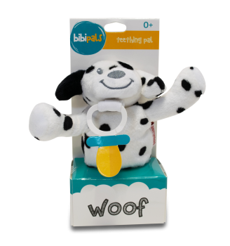 BibiPals Spotty Dog PLUSH - WOOF
