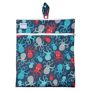 Wet & Dry Bag-Navy Octopus