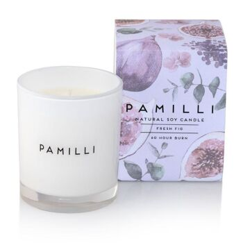 Natural Soy Candle - Fresh Fig