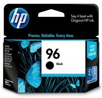 HP No. 96 Black Ink Cartridge - Estimated Page Yield 800 pages - C8767A