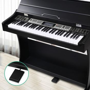 Alpha Electronic Digital Piano Keyboard 61 Key Electric Classical Music Stand