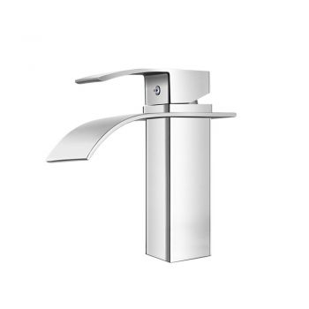 Cefito Mixer Tap Bathroom Taps Faucet Basin Sink Vanity Brass Chrome WELS Silver