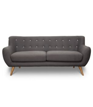 6IXTY 3-Seater Sofa - Grey