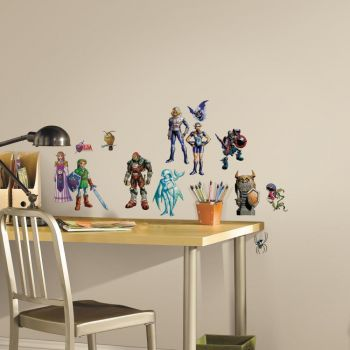 ROOMMATES Zelda: Ocarina of Time 3D Peel and Stick Wall Decal