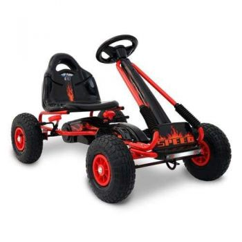 Kids Ride Pedal Go Kart - Red