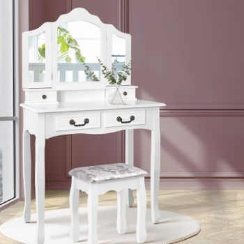 Dressing Table Stool Mirrors Jewellery Cabinet Drawers Tables Organizer