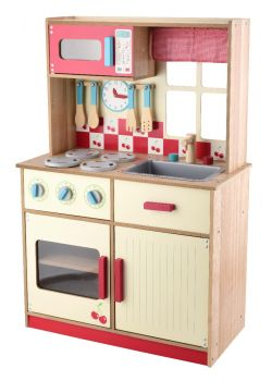 Wooden Delux Play Kitchen