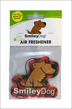 Smiley Dog Air Freshener Pack Strawberry (10 units)