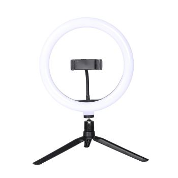 LED Ring Light with Tripod Stand Phone Holder
