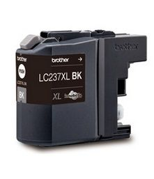 Brother LC237XLBK Black Ink Cartridge - Estimated Page Yield: 1200 pages