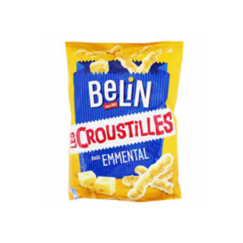 Belin Croustilles Emmental Cheese Flavour 88g