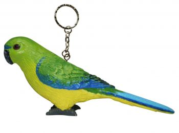 Orange Bellied Parrot keychain (Pack of 6)