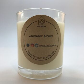 Lavender & Mint Soy Candle