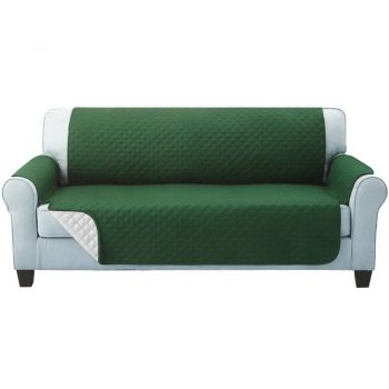 Artiss 1 2 3 Seater Sofa Cover Quilted Couch Covers Lounge Protector Slipcovers Green