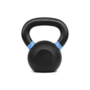 Verpeak Cast Iron Kettlebell Powder Coated Dumbbell Weight Lifting Gym Crossfit 12KG