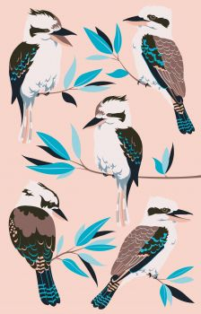 Tea Towel - Kookaburras