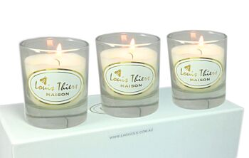 Maison Louis Thiers 3 Pce Aromatic Candle