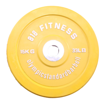 818 Fitness 5-25kg Olympic Weight Plate Colour Cast Iron Home Gym Dumbbell Barbell Plates