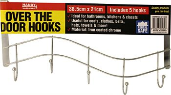 Adhesive Removable Hooks 27mm x 21mm