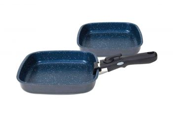 Flavorstone Diamond 22 & 24cm Saute Pan Set