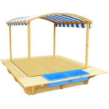 Lifespan Kids Playfort 2 Sandpit with Cover