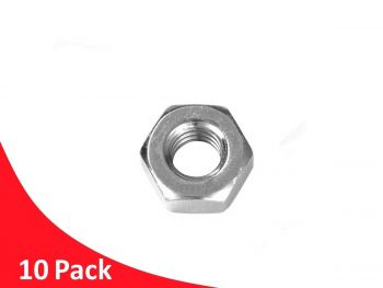 Hex Nut M10 RHT G316 Stainless Steel