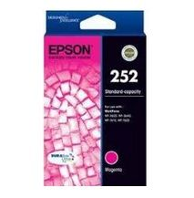 Epson 252 Standard Capacity Magenta Ink Cartridge - Workforce 3620 / 3640 / 7610 / 7620 - Estimated Page Yield: 250 pages - C13T252392