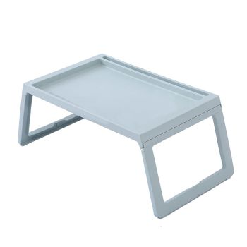 Foldabale Portable Laptop Desk Stand Bed Tray in Blue